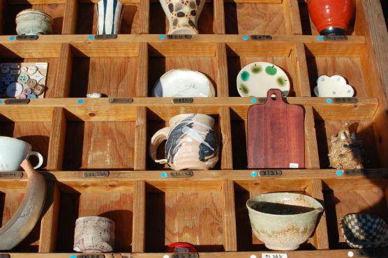 益子陶器市 作家テント