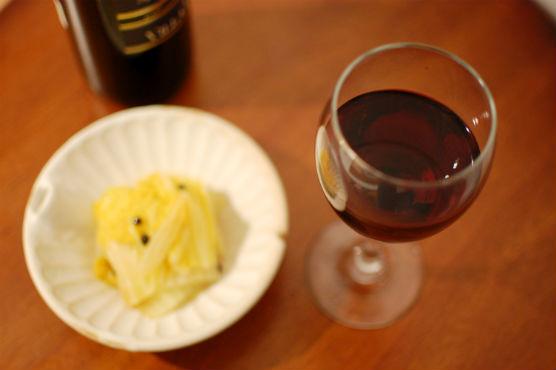 赤ワインおつまみ