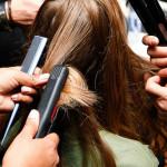 白髪とヘアアイロンの複雑な関係。
