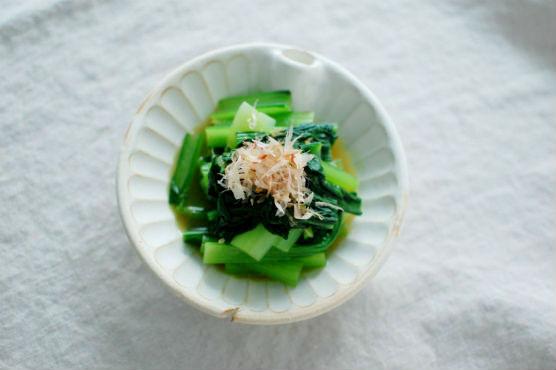 小松菜のからし和え