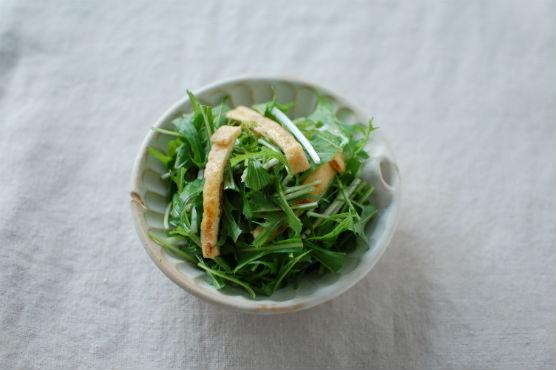 水菜のサラダレシピ
