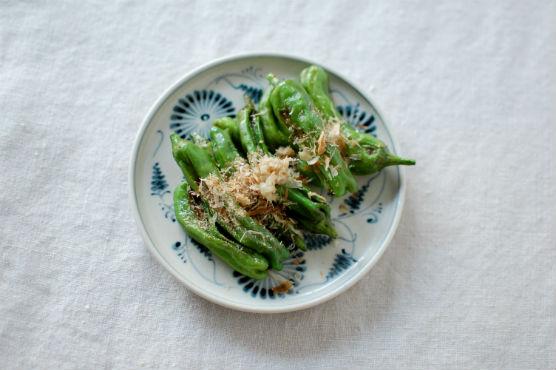 焼きシシトウレシピ