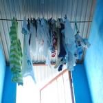 男の家事のクオリティ 汚れたトートバッグを人様の家で洗濯する。