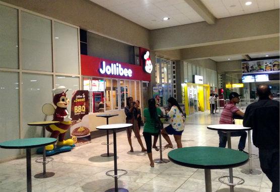 マニラ空港ジョリビー