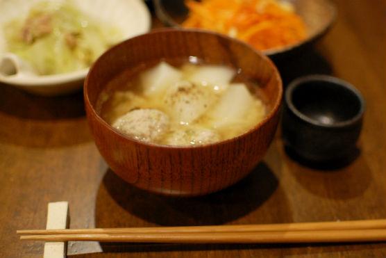 肉団子の味噌汁
