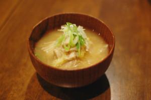 えのきと白菜の味噌汁