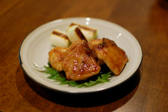 鶏のくわ焼き