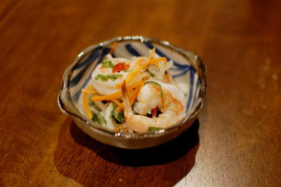 海老のナンプラー風味サラダ