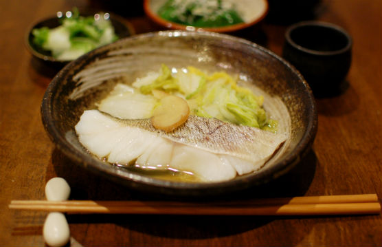 タラと白菜のしょうが煮
