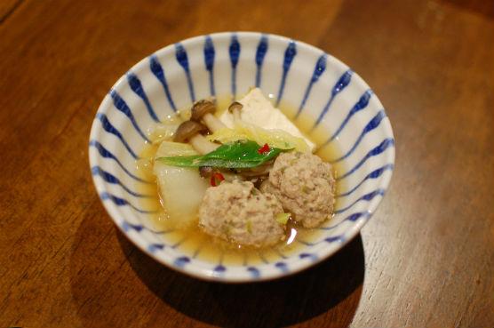 肉団子味噌ちゃんこ鍋