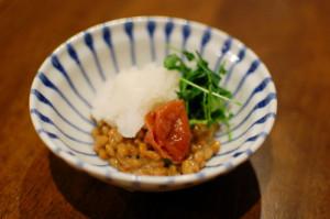 梅おろし納豆