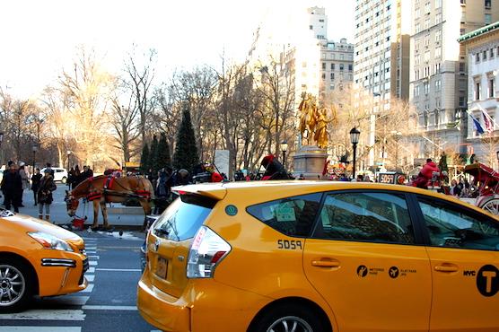 ニューヨークのタクシー