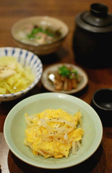 卵と玉ねぎの炒めもの