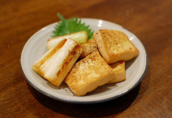 いり焼き豆腐