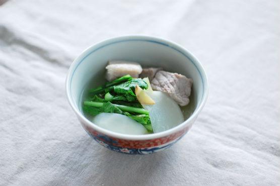 塩豚と蕪のスープ煮