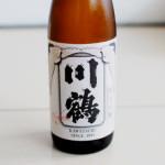 香川の酒 川鶴 純米吟醸 wisdomで晩酌 牛肉と大根の塩煮、わかめと揚げのぬた。