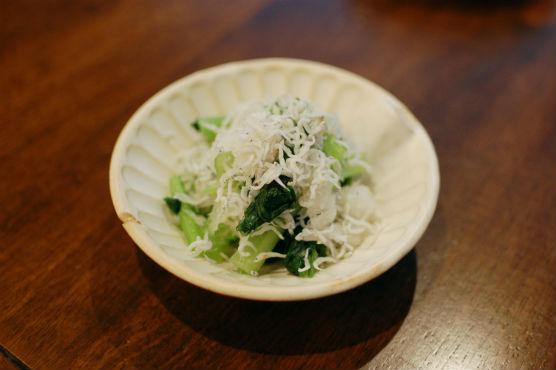 小松菜しらすおろし