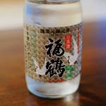 長崎の酒 福鶴カップで晩酌 鶏ごぼう、黒枝豆の白和え献立。