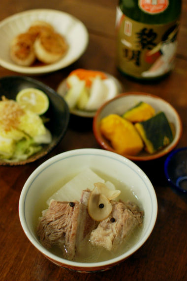 ソーキと大根のスープ煮