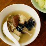 スープを3日間食べ続けて旅行の疲れを癒す。