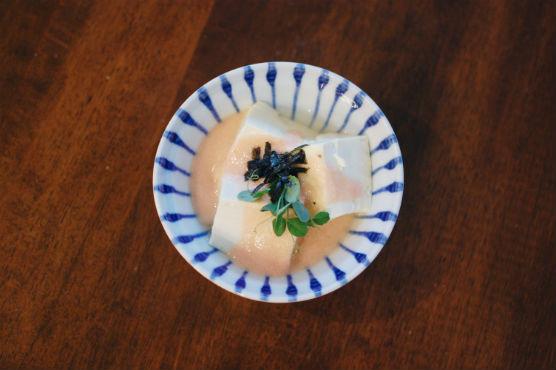 明太子豆腐