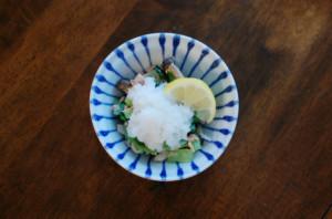 ツナと小松菜のおろし和え