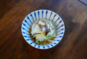 白菜の塩昆布蒸し