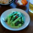 青菜のナンプラー炒め献立