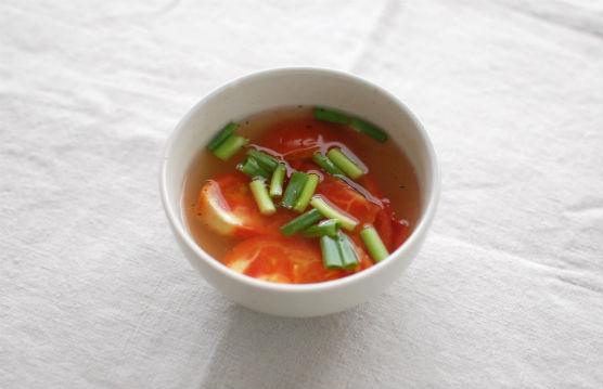 トマトのスープ