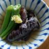 夏野菜の焼き浸し献立