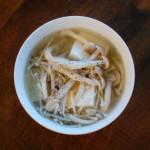 ひとんちの食の不思議ときのこスープ。
