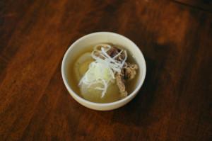 牛肉と大根の塩煮