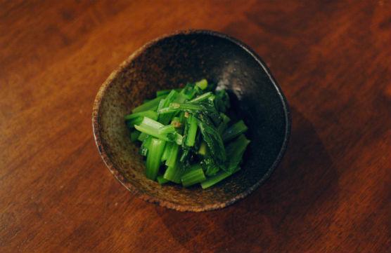 小松菜の柚子胡椒和え