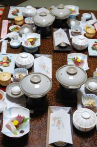 きぬ川国際ホテル夕食