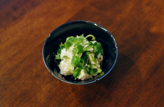三つ葉豆腐