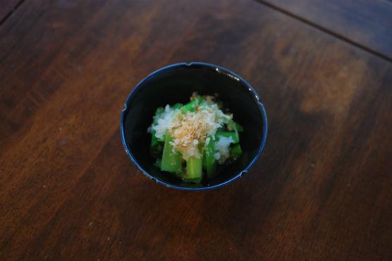 小松菜のおろし和え