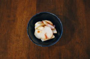 かぶの梅サラダ