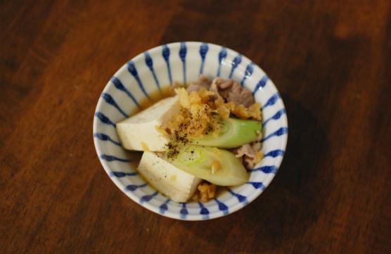 たぬき豆腐