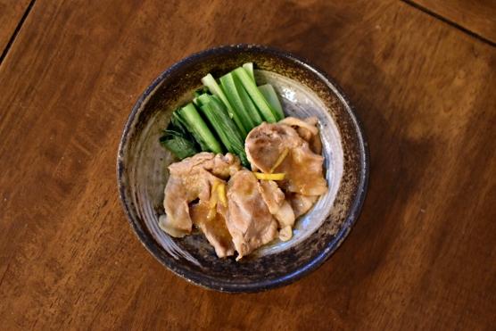 豚ロースの柚子味噌焼き