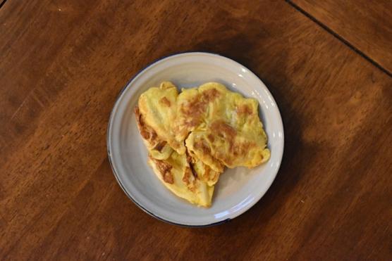 ねぎの卵炒め